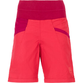 La Sportiva Ramp Naiset Lyhyet housut , punainen/violetti